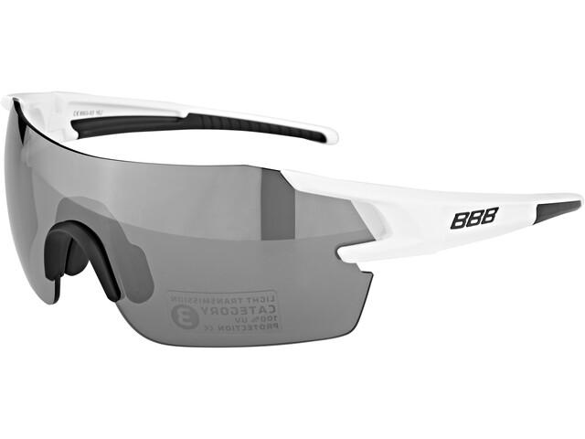 BBB FullView BSG-53 Okulary rowerowe biały